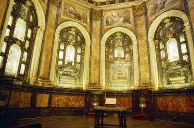 Interior del Ochavo de la Catedral.