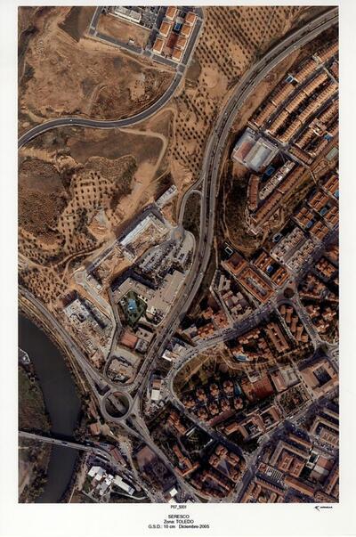 Vista aérea del término municipal de Toledo (Pasada 7 - núm. 5001).