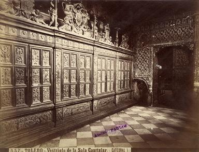 Toledo - Vestíbulo de la Sala Capitular de la Catedral.