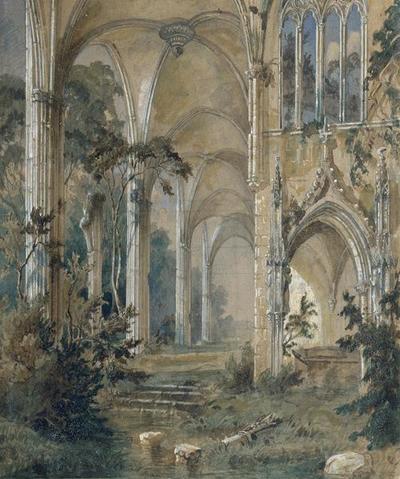 Gotische Kirchenruine