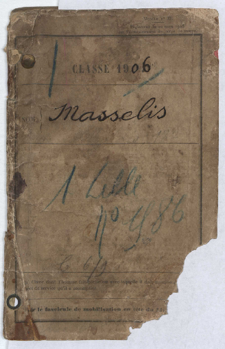 FRBNBU-133 Histoire d'Henri Masselis, grand-père maternel de Jean-Luc Reboulet