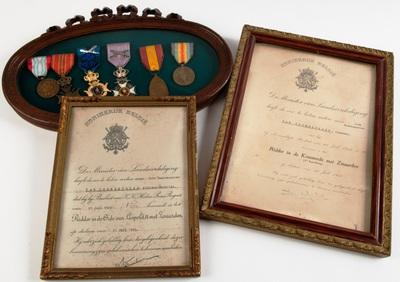 Medailles en brevetten