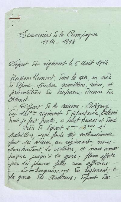 FRBNBU-051 Pascal Thuillier très gravement blessé en septembre 1914