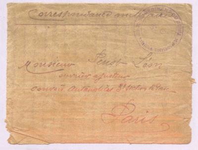 FRBNBU-058 Joseph Steck, André Léon Louis Robillard, Emile Sekely correspondances et journal