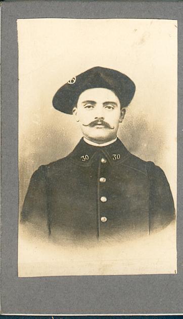 Carnet d'un chasseur alpin : souvenirs écrits dans les Vosges à partir du 14 septembre 1914