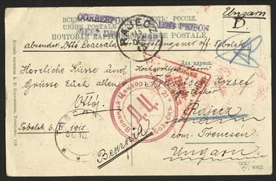 Korešpondencia Otta Čačalu z Ruska