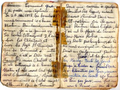 Journal de captivité de Joseph Carré