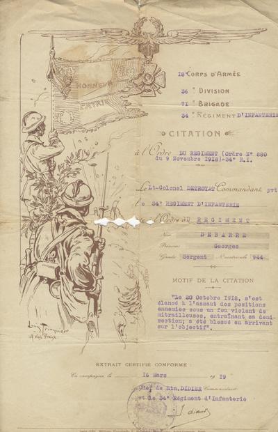 FRAD008_7 Documents de Georges Debarre