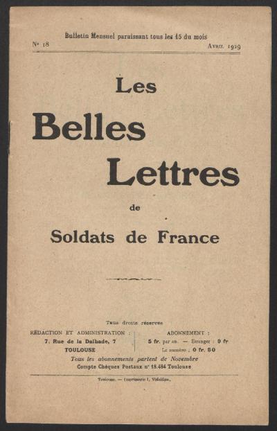 FRBDIC_57 Lettres de Maurice Perrossier, engagé volontaire, mort à Verdun à 19 ans