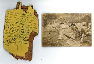 Luftkampf Binarville / Marne am 26.9.1916
