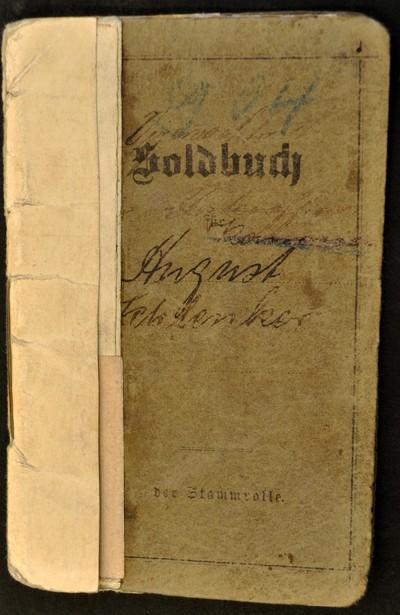 August Schlenkers Dokumente