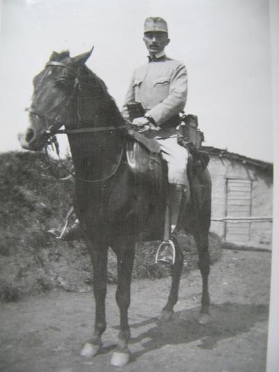 Dr. Ľudovít Feigler ako dôstojník rakúsko - uhorskej armády