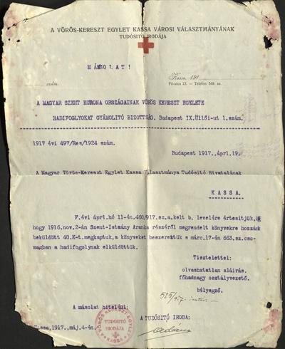 Rôzna korešpondencia, fotografie a listy zo zajatia