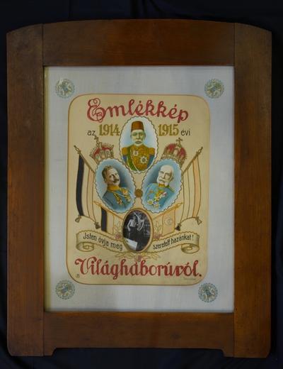 Vzácny vyšívaný obraz  z prvej svetovej vojny