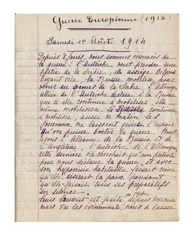 FRAD087_137-Le Journal de guerre de Marthe Dupont