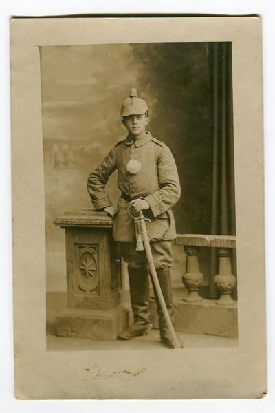 Hermann Weilbier  aus Bötzow an der Ostfront