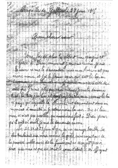 Omnia Lettre De Victor Deguilhem à Sa Soeur Louise 27