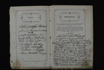 FRAD067-180 Alfred Gottfried Woehrel (1892-1914), jeune Bas-Rhinois dont la courte histoire nous est connue par le livre de raison familial.