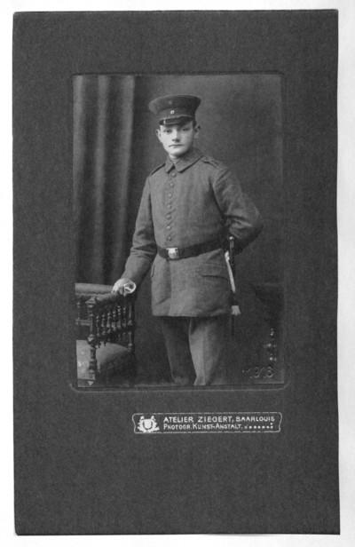 Erinnerungen von Hermann Hülsmann über seinen Einsatz an der Westfront und sein Leben in französischer Kriegsgefangenschaft