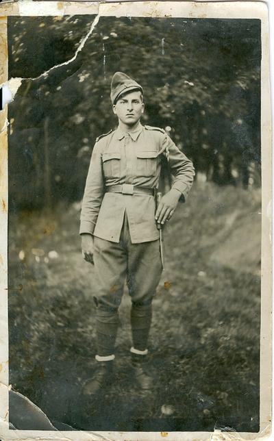 Sergent major in rezerva Ioan Fratila
