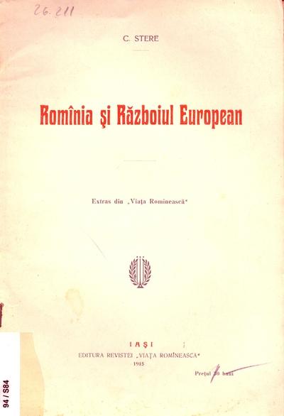 Rominia si Razboiul European