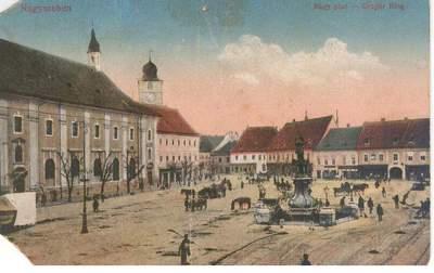 Sibiu - Hermannstadt, 1918