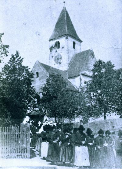 O turla de biserica avariata