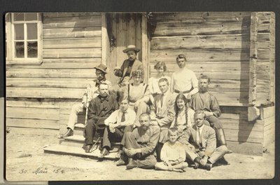 Familie Hohle in Russland