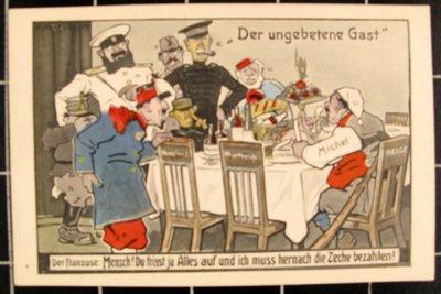 Propaganda- und Porträtpostkarten