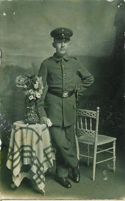 Wiesener, H. - Portraitpostkarte
