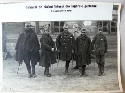 Invalizi de război întorși acasă (1918)
