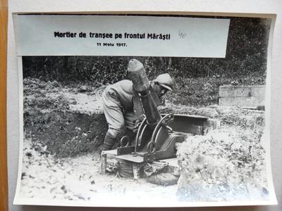 Mortier pe frontul de la Mărăști (1917)