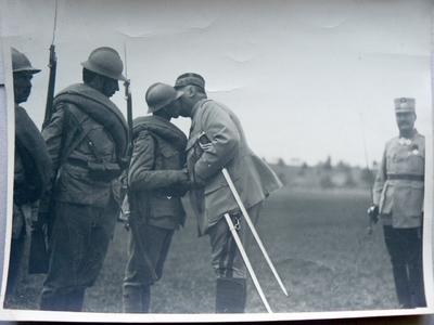 Generalul Berthelot la Oituz (1917)