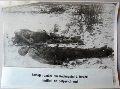 Soldați români din Regimentul 3 Roșiori