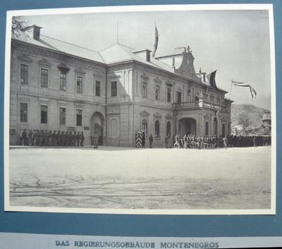 Das Regierungsgebäude Montenegros
