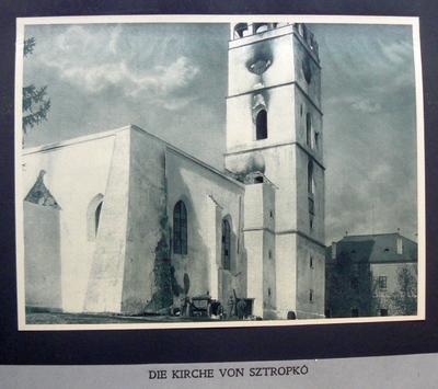 Die Kirche von Sztopko