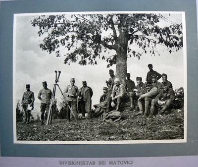 Divisionsstab bei Matovic