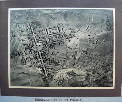 Erkundungsflug bei Pozega