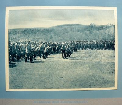 Feldmesse beim Korpskommando