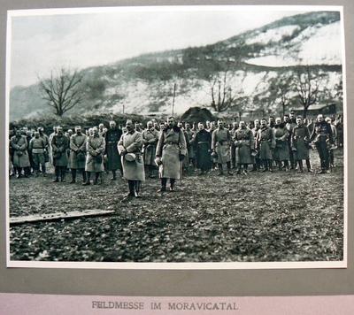 Feldmesse im Moravicatal