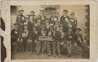 Conscrits de la classe 1916, Chemillé (Maine-et-Loire)