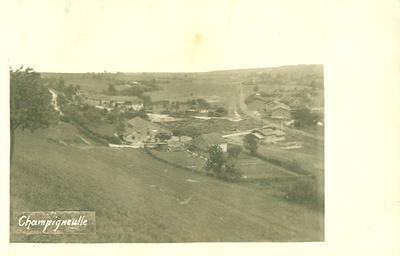 Champigneulle im Argonner Wald: eine Ansicht von 1917