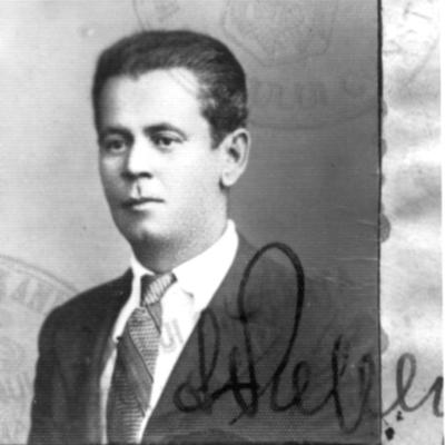 Fotografii cu Nicolae Bozdoc, pilot în Primul Război Mondial