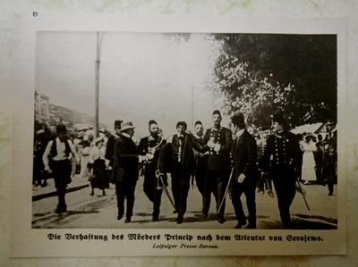 Gavrilo Princip arrest