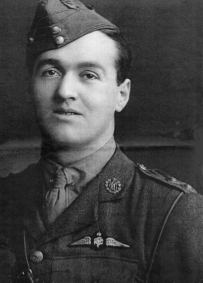 Daniel J Sheehan, 2nd Lieutenant Royal Flying Corps 1916