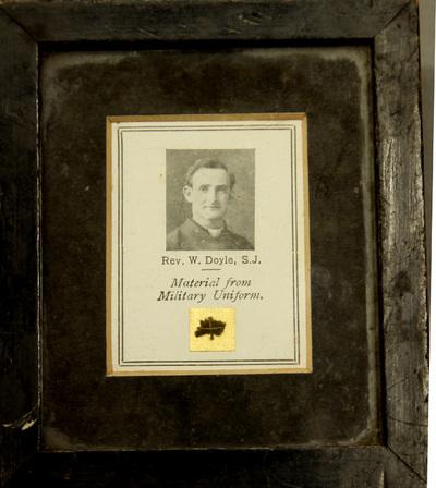 Memorial of Fr WJ Doyle