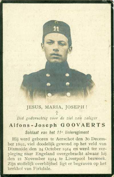 Alfons Joseph Goovaerts.
