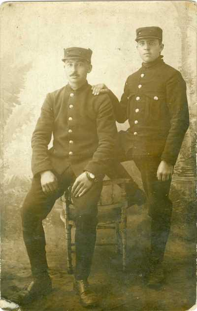 François Hoebers, vrijwilliger 1914-1918.