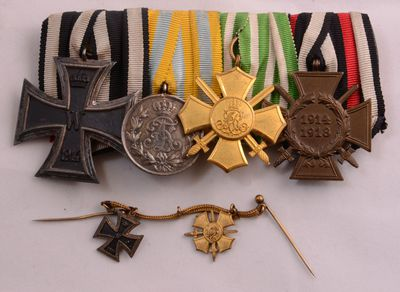 Militärische Auszeichnungen von Friedrich Uhlig