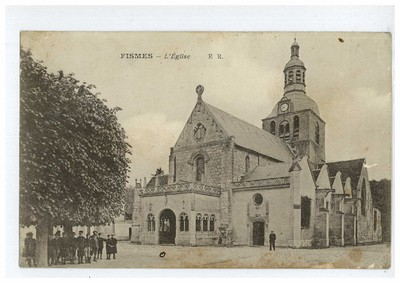Louis Martin - Récit du bombardement de Fismes le 17 juin 1915 (recto)